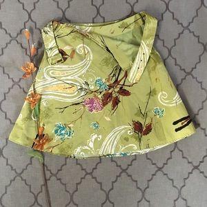 Vintage Whimsical Blustery Day Skirt
